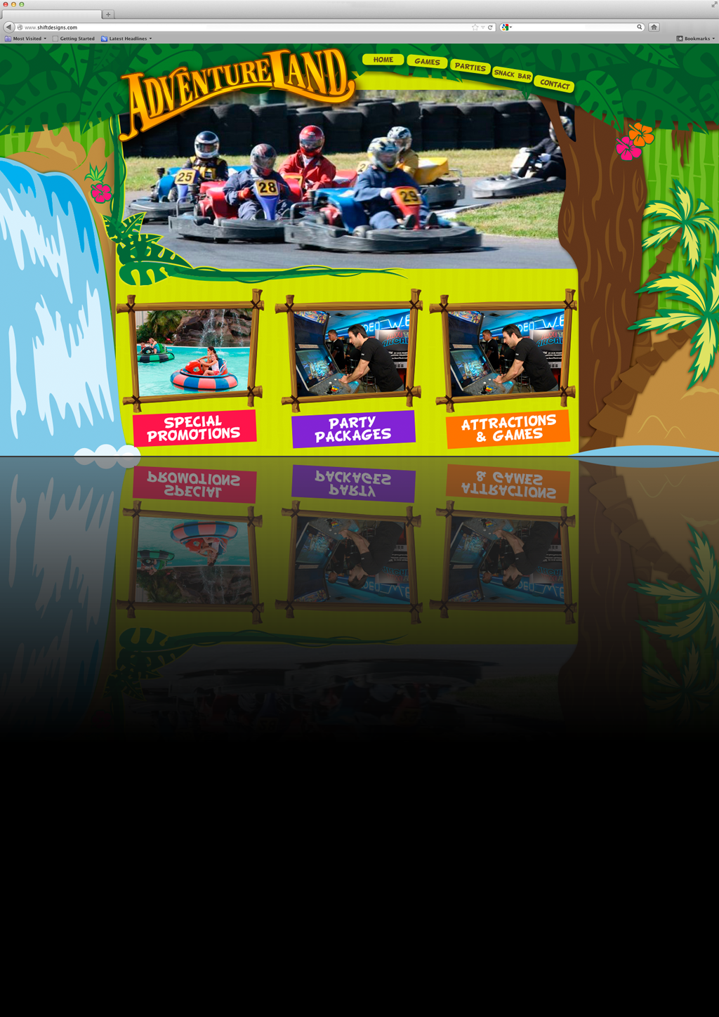 adventureland-website